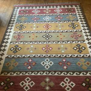 Superb Quality Hand Made Indian Kilimn Wonderful Colours and Design