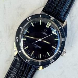 Vintage 1967 Omega Seamaster 120 135.027 on Leather Strap
