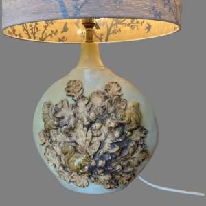 20th Century Bernard Rooke Pottery Table Lamp