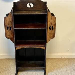 Small Arts and Crafts Oak Bookcase