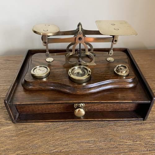 Superb Set of Victorian Postal Scales image-1