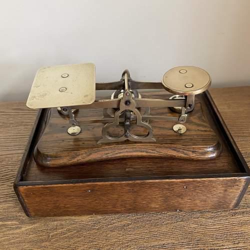 Superb Set of Victorian Postal Scales image-4