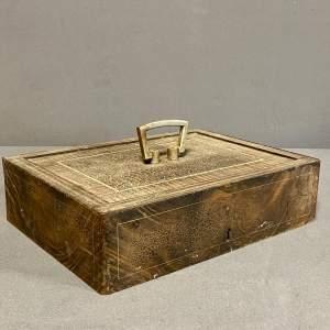 Victorian Portable Strong Box