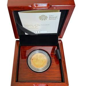 Nations Of The Crown 2017 UK Gold Proof £1