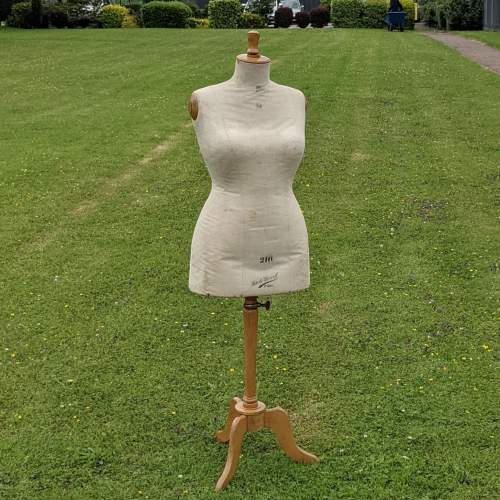 French Dress Makers Mannequin Dummy by Girard of Paris image-2