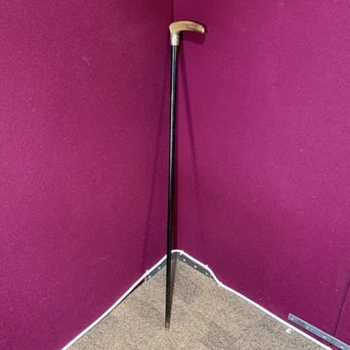 Silver Top Walking Stick image-2
