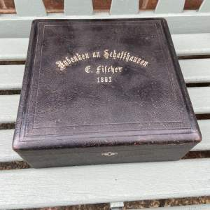 Leather Box - Dated 1897