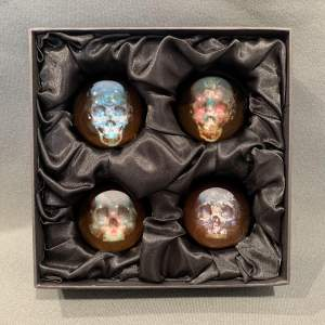 Magnus Gjoen Set Of Limited Edition Paperweights