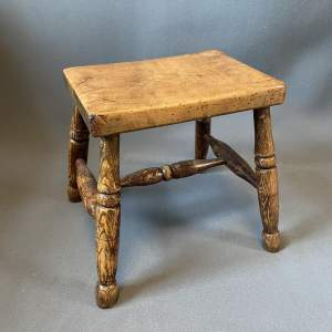Ash And Elm Milking Stool