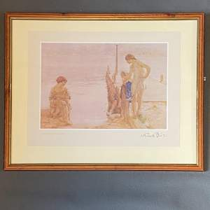 Print Of An August Morning By Sir William Russell Flint