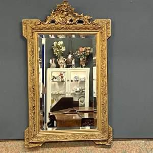Victorian Giltwood Framed Wall Mirror