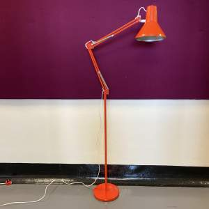 1970s Danish HCF Articulated Standard Lamp