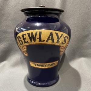 Early 20th Century Royal Doulton Bewlays Tobacco Jar