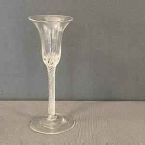 18th Century Air Twist Stemmed Drinking Glass
