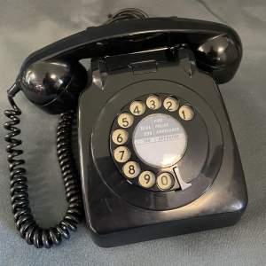 Retro GPO Black Telephone