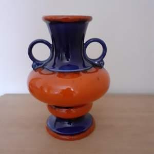 West German Vintage Ceramic Vase made by Jasba