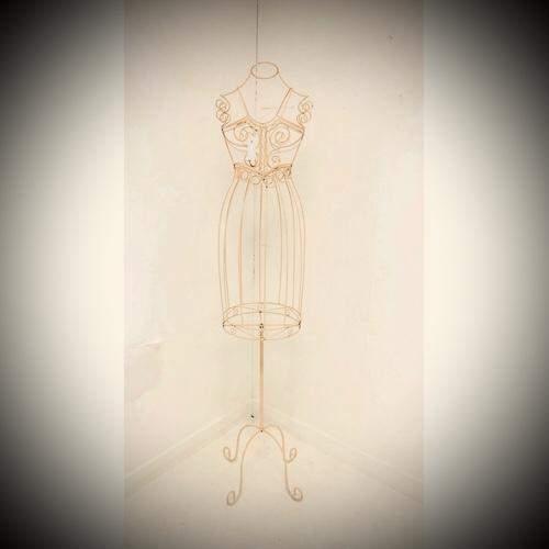 Vintage Wire Work Mannequin image-2