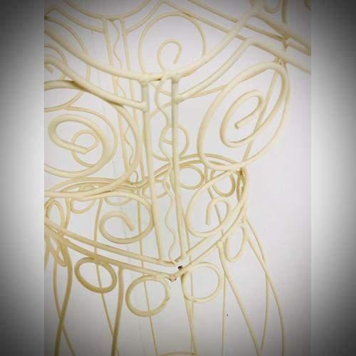 Vintage Wire Work Mannequin image-3