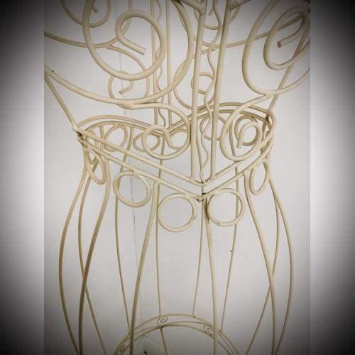 Vintage Wire Work Mannequin image-4