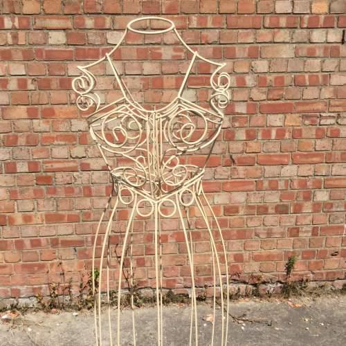 Vintage Wire Work Mannequin image-1
