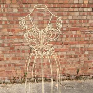 Vintage Wire Work Mannequin