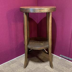 Round Thonet Side Table