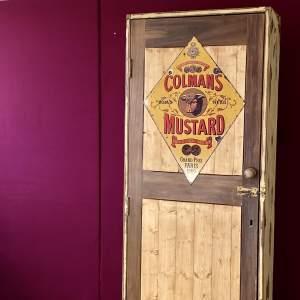 Vintage Painted Pine Cupboard