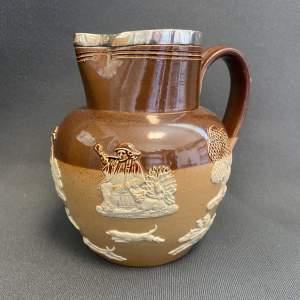 Doulton Lambeth Stoneware Harvest Jug