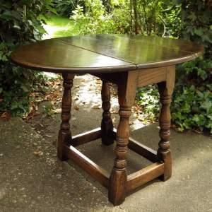 20th Century Quality Oak Coffee Table