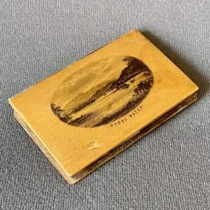 Rare Victorian Mauchline Ware Needle Case