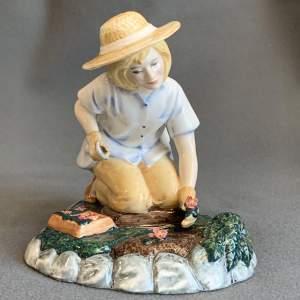 Royal Doulton Gardening Time Figure