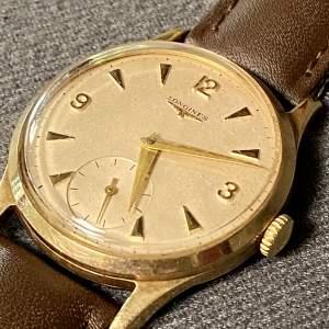 20th Century 9ct Gold Longines Watch