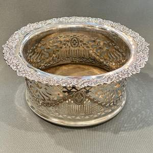 Late Victorian Large Silver Plate Wine Cooler