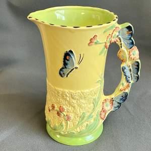 Burleigh Ware Butterfly Jug