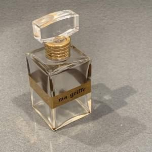 Carven Ma Griffe Vintage Glass Scent Bottle