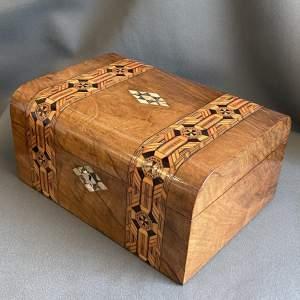 Victorian Tunbridge Ware Sewing Box
