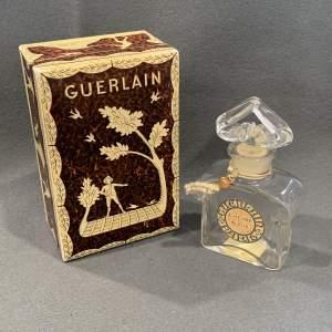 Guerlain L'Heure Bleue Vintage Glass Scent Bottle