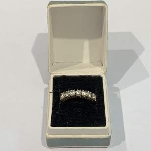 9ct Gold Ring With Cubic Zirconia