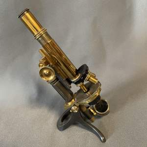 Early 20th Century Swift and Sons Microscope