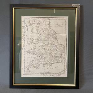 18th Century Map of England and Wales