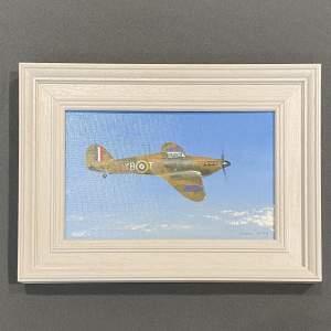 Hurricane Framed Original Oil Painting