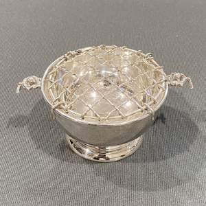 Silver Miniature Rose Bowl