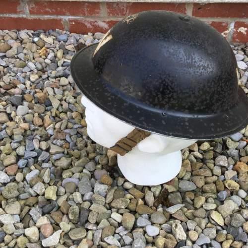 A WW2 Air Raid Warden Tin Helmet image-5