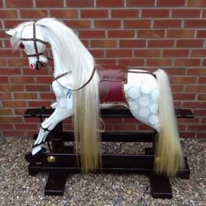 Vintage Restored Rocking Horse