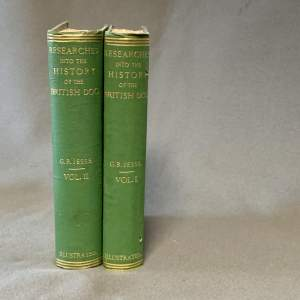 19th Century George R Jesse History of the British Dog Books