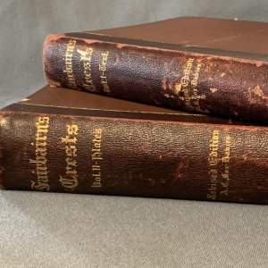 19th Century Two Volumes of Fairbairns Crests