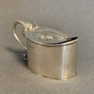 Edwardian Silver Mustard Pot