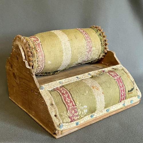 Victorian Lace Roller and Pillow image-1