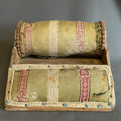 Victorian Lace Roller and Pillow image-4