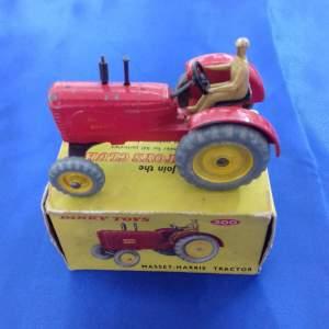 Dinky Massey Harris Tractor